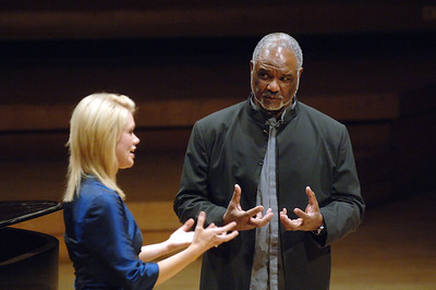 Sir Willard White masterclass, Royal Northern College of Music