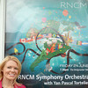 RNCM Symphony orchestra at the Bridgewater Hall, Manchester