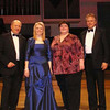 Frederic Cox award at the Royal Northern College of Music. Pictured with adjudicators Alec Crowe, Jane Eaglen and Thomas Schulze