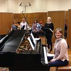 Recording at Maida Vale Studios; Roxanna Panufnik's 'Love Sought'  performed live for the BBC Radio 3 #Shakespeare400 at the Royal Shakespeare Company's The Other Place,  May 2016