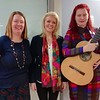 Music in Hospitals and Care ICU Hear Session - with MiHC musician Amy Bowles and Chief executive Barbara Osborne at Manchester Royal Infirmary.