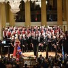 1st July 2016: Royal British Legion,  Battle of the Somme Centenary Concert,  St George's Hall Liverpool. Fron Male Voice Choir and Mersey Wave Choir
