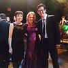 Royal Northern Gala Dinner 2016 with Principal Linda Merrick and pianist  Benjamin Powell.