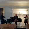 Ryedale launch concert with Festival Director Christopher Glynn and the Heath Quartet at Queens Gate Terrace, London.