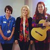 Music in Hospitals and Care ICU Hear Session - with MiHC musician Amy Bowles and Cath Applewhite Patient experience lead and Critical Care Sister at Manchester Royal Infirmary.